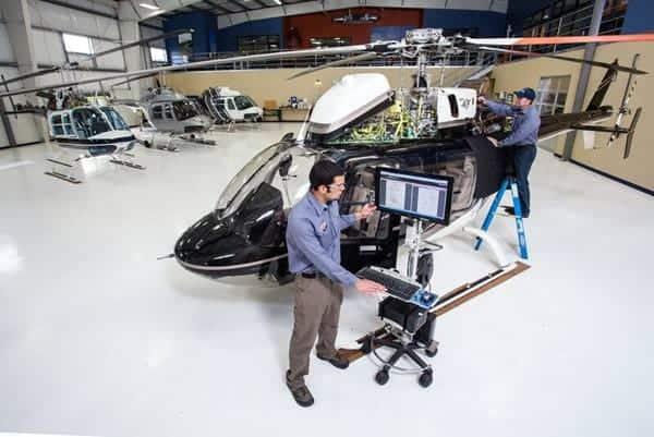 Faible coût d'exploitation du Bell 407