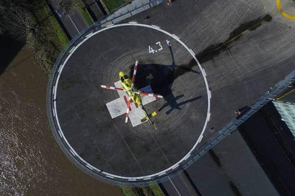 Le Bell 429 sur une hélisurface