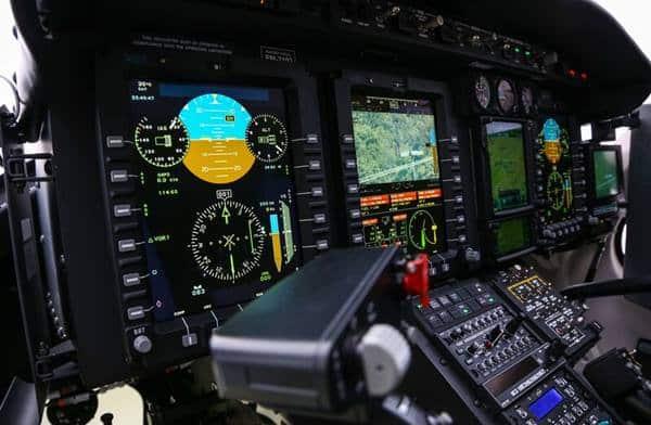 Affichages intuitifs du Bell 429