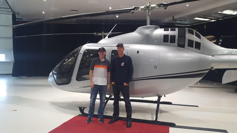 Livraison du Bell 505