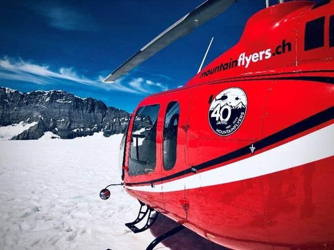 Mountain Flyers - Gros-plan de l'arrière