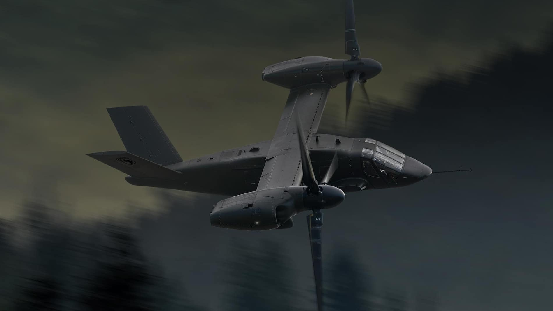 bell-v-280-moving-fast-through-trees