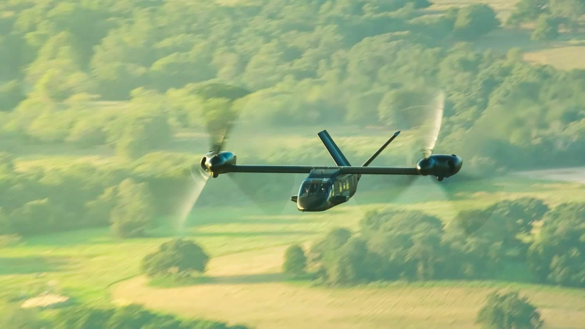 Images du V-280 Air to Air prises par la vidéo 07 8K