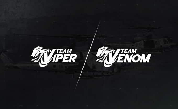 Logos de l'équipe Viper/Venom