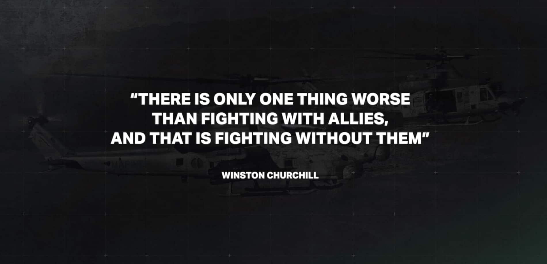 Image de couverture de la vidéo de l'équipe Viper Venom - Citation de Winston Churchill