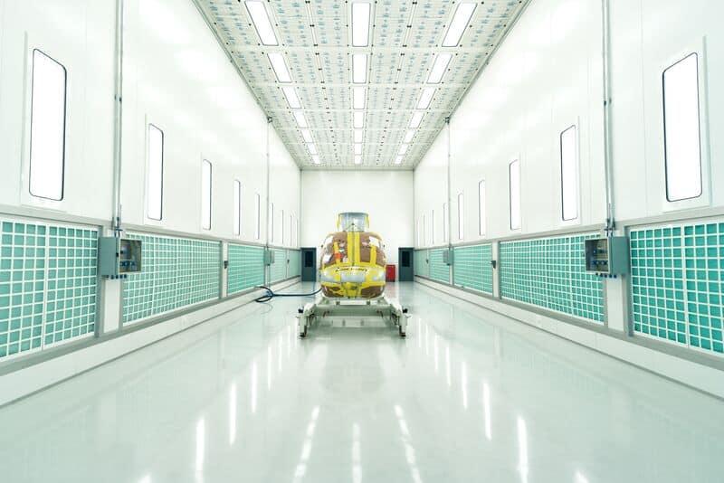 Centre d'entretien et de réparation Bell - Europe